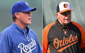 ALCS managers Ned Yost and Buck Showalter