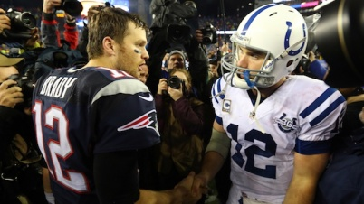 Will Tom Brady and Andrew Luck put up big numbers in a shootout this weekend?