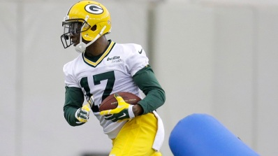 Rookie receiver Davante Adams