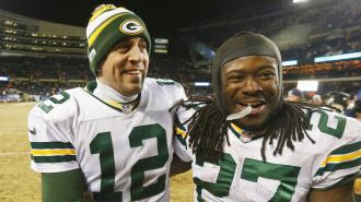 One-half of Green Bay's four-headed weapon
