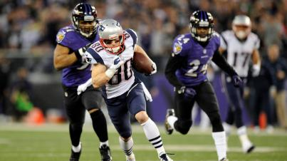 Can the Patriots run away from the Ravens in the playoffs?